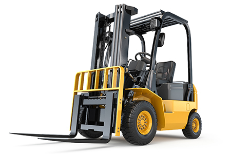 discount waste forklift rental